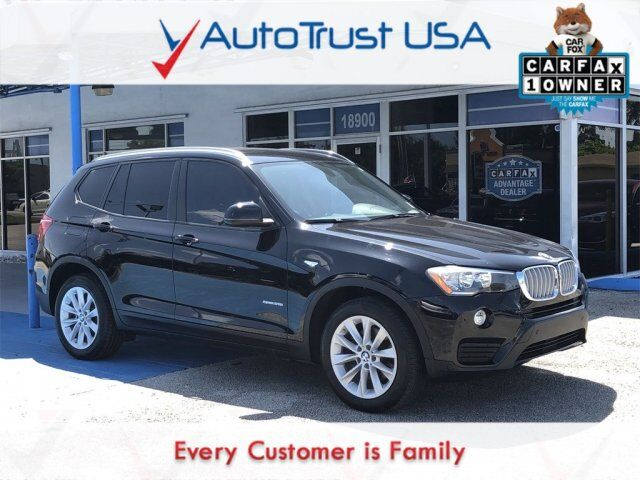 2016 BMW X3 sDrive28i Miami FL