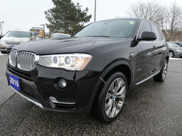 2016 BMW X3 xDrive Navigation Heated Seats Power Lift Gate Essex ON