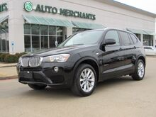 2016_BMW_X3_xDrive28d DIESEL,NAVIGATION, LEATHER SEATS, PANORAMIC SUNROOF, BLUETOOTH CONNECTION, POWER LIFT-GATE_ Plano TX