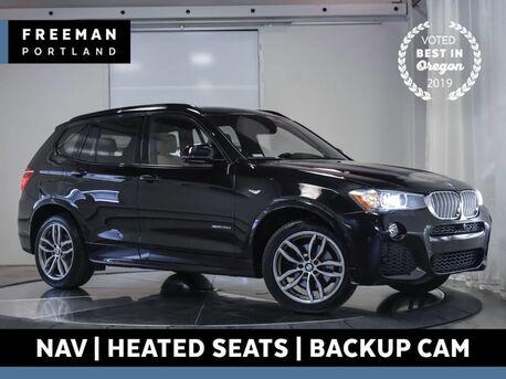 2016_BMW_X3_xDrive28d Diesel M Sport Head-Up Display Nav Pano_ Portland OR