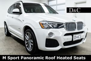 2016 BMW X3 xDrive28d M Sport Panoramic Roof Heated Seats