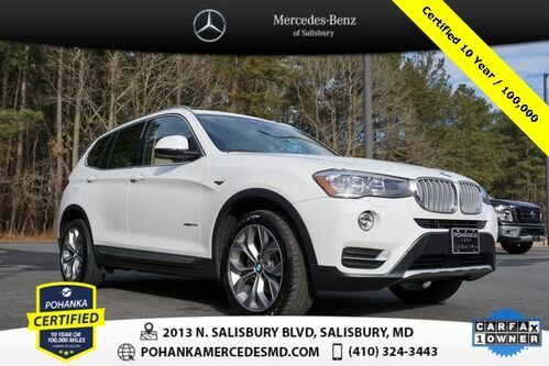 2016_BMW_X3_xDrive28i AWD ** Pohanka Certified 10 year / 100,000 **_ Salisbury MD
