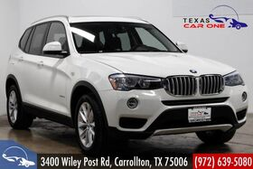 2016_BMW_X3 xDrive28i_AWD DRIVER ASSIST PKG PANORAMA LEATHER HEATED SEATS REAR CAMERA_ Carrollton TX