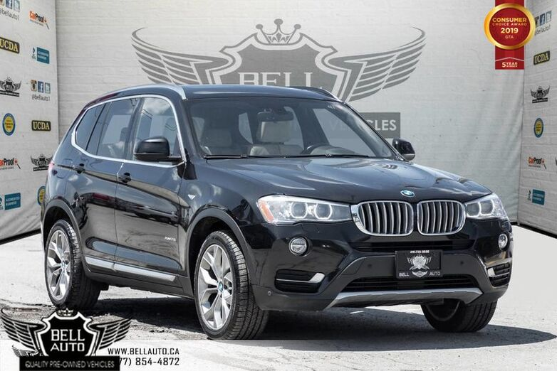 2016 BMW X3 xDrive28i, AWD, NAVI, BACK-UP CAM, PANO ROOF, SENSORS, PUSH START Toronto ON