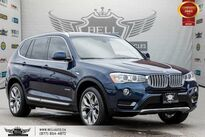 BMW X3 xDrive28i, AWD, NO ACCIDENT, NAVI, HEADS-UP, REAR CAM 2016
