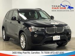 2016_BMW_X3 xDrive28i_AWD PREMIUM PKG DRIVER ASSIST PKG NAVIGATION PANORAMA LEATHER_ Carrollton TX