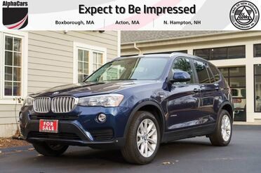 2016_BMW_X3_xDrive28i_ Boxborough MA