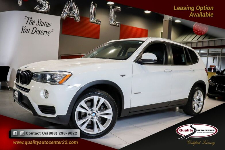2016 BMW X3 xDrive28i Lighting Package Cold Weather and Premium Package Panorama Roof Springfield NJ