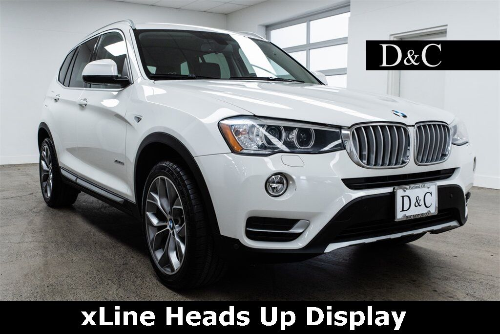 2016 BMW X3 xDrive28i xLine Heads Up Display Portland OR
