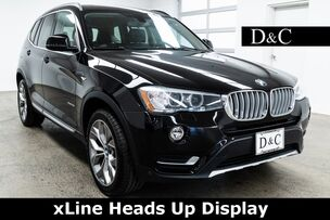 2016 BMW X3 xDrive28i xLine Heads Up Display
