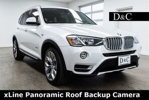 2016_BMW_X3_xDrive28i xLine Panoramic Roof Backup Camera_ Portland OR
