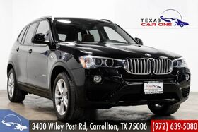2016_BMW_X3 xDrive35i_AWD DRIVER ASSIST PKG TECH PKG PREMIUM PKG NAVIGATION PANORAMA H_ Carrollton TX