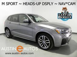 2016_BMW_X3 xDrive35i_*M SPORT, HEADS-UP DISPLAY, NAVIGATION, TOP/REAR/SIDE CAMERAS, BLIND SPOT ALERT, DRIVING ASSISTANT, PANORAMA MOONROOF, HARMAN/KARDON, DYNAMIC HANDLING PKG_ Round Rock TX