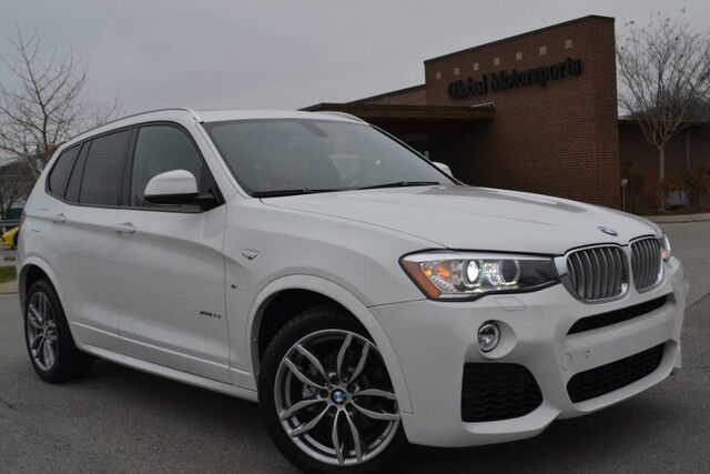 2016 BMW X3 xDrive35i/MSRP $56,895/M Sport Pkg/Cold Weather Pkg/Driver Assist Pkg/Technology Pkg/Premium Pkg/Heads Up Display/Harmon Kardon Audio/Navigation/Panoramic Roof/Heated Front-Rear Seats/Comfort Access Pkg/Pwr Liftgate/PDC/Sport Seats Nashville TN