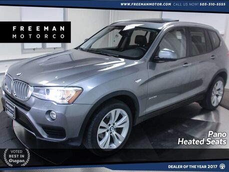 2016_BMW_X3_xDrive35i Pano Heated Seats Surround View Cam_ Portland OR