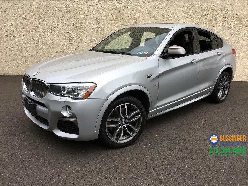 2016 BMW X4 M40i - All Wheel Drive Feasterville PA