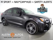 BMW X4 xDrive28i AWD *M SPORT PKG, HEADS-UP DISPLAY, NAVIGATION, BLIND SPOT ALERT, DRIVING ASSISTANT, TOP/SIDE/REAR CAMERAS, LEATHER, HEATED SEATS, MOONROOF, BLUETOOTH 2016