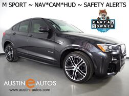 2016_BMW_X4 xDrive28i AWD_*M SPORT PKG, HEADS-UP DISPLAY, NAVIGATION, BLIND SPOT ALERT, DRIVING ASSISTANT, TOP/SIDE/REAR CAMERAS, LEATHER, HEATED SEATS, MOONROOF, BLUETOOTH_ Round Rock TX