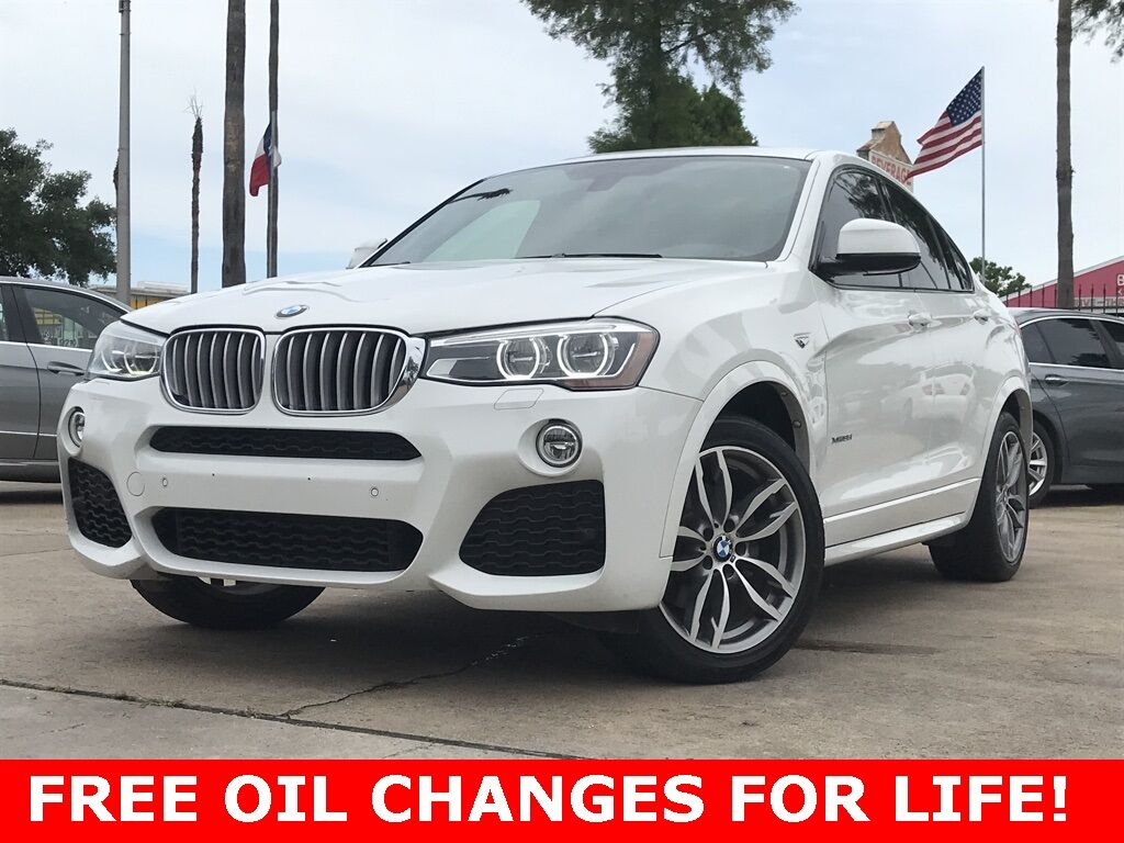 2016 BMW X4 xDrive35i Houston TX
