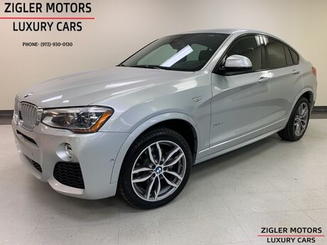 2016 BMW X4 xDrive35i M Sport Heads Up One Owner Clean Carfax Addison TX