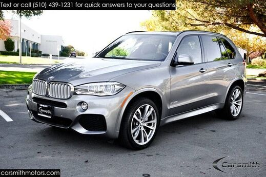 2016 BMW X5 5.0 M Sport/Rare Mocha Interior/Executive and Lighting Pkg MSRP $83,145 and 20 Wheels/Harmon Kardon/ Fremont CA