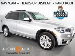 2016_BMW_X5 AWD xDrive40e_*NAVIGATION, HEADS-UP DISPLAY, BACKUP-CAMERA, PANORAMA MOONROOF, LEATHER, HEATED SEATS/STEERING WHEEL, MULTI-CONTOUR SEATS, HARMAN/KARDON_ Round Rock TX