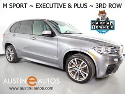 2016_BMW_X5 AWD xDrive50i_*M SPORT, EXECUTIVE PKG, HEADS-UP DISPLAY, NAVIGATION, BLIND SPOT ALERT, DRIVING ASSISTANT, 3RD ROW, PANORAMA MOONROOF, HARMAN/KARDON_ Round Rock TX