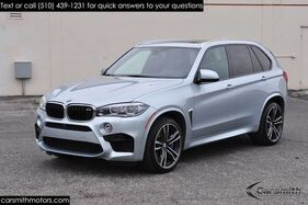 2016_BMW_X5 M Rare Silverstone Metallic MSRP $108,925_21 Wheels/Night Vision w Pedestrian/Drivers Assistance Plus_ Fremont CA