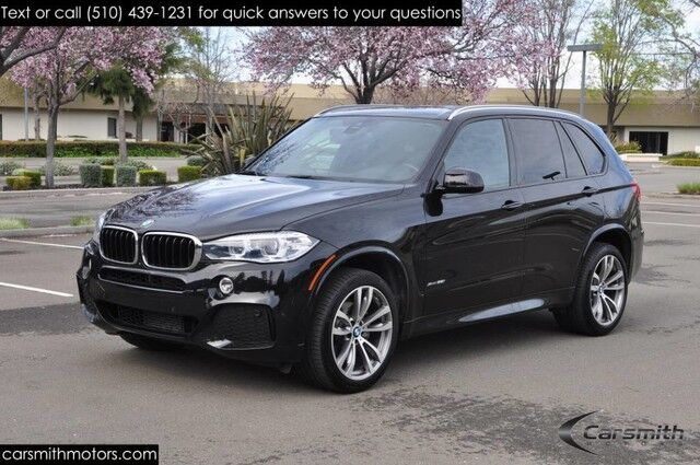2016 BMW X5 M Sport 20 Wheels Drivers Assistance Plus MSRP $70,620 Drivers Assistance/Harmon Kardon/One Owner Fremont CA