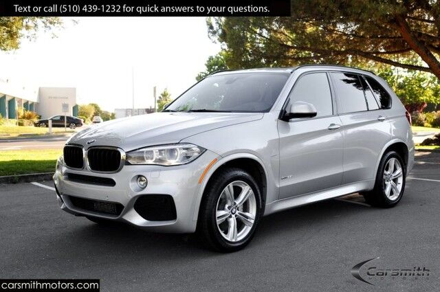 2016 BMW X5 M Sport Cold Weather/ Drivers Assistance Plus MSRP $71,170 Drivers Assistance/ Surround Cameras/NEW TIRES Fremont CA