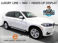 BMW X5 sDrive35i *LUXURY LINE, HEADS-UP DISPLAY, NAVIGATION, BACKUP-CAM, LUXURY SEATING PKG, PANORAMA MOONROOF, LEATHER, BLUETOOTH PHONE & AUDIO 2016