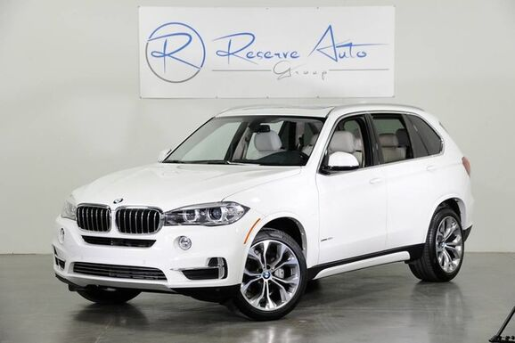 2016_BMW_X5_sDrive35i Luxury Line 3rd Row Seat Rear DVD_ The Colony TX