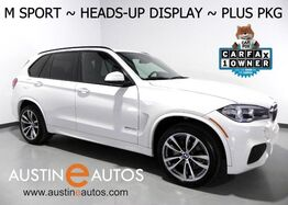 2016_BMW_X5 sDrive35i_*M SPORT, HEADS-UP DISPLAY, BLIND SPOT ALERT, TOP/SIDE/REAR CAMERAS, DRIVING ASSISTANT, PANORAMA MOONROOF, CONTOUR SEATS, LEATHER, BLUETOOTH_ Round Rock TX