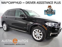 2016_BMW_X5 sDrive35i_*NAVIGATION, HEADS-UP DISPLAY, BLIND SPOT ALERT, DRIVING ASSISTANT, LANE DEPARTURE ALERT, TOP/REAR/SIDE CAMERAS, PANORAMA MOONROOF, LEATHER, HEATED SEATS, BLUETOOTH_ Round Rock TX