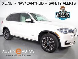 2016_BMW_X5 sDrive35i_*XLINE, HEADS-UP DISPLAY, NAVIGATION, BLIND SPOT ALERT, DRIVING ASSISTANT, TOP/REAR/SIDE CAMERAS, PANORAMA MOONROOF, HARMAN/KARDON, LEATHER, HEATED SEATS, BLUETOOTH_ Round Rock TX