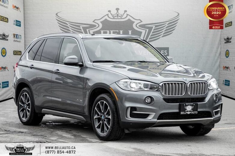 2016 BMW X5 xDrive35i, AWD, HEADS-UP DIS, NAVI, REAR CAM, B.SPOT Toronto ON