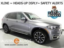 BMW X5 xDrive35i AWD *XLINE, HEADS-UP DISPLAY, NAVIGATION, SIDE/TOP/REAR CAMERAS, BLIND SPOT ALERT, DRIVING ASSISTANT, IVORY WHITE/LUXURY SEATING PKG, HARMAN/KARDON, PANORAMA MOONROOF 2016