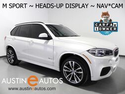 2016_BMW_X5 xDrive35i_*M SPORT, HEADS-UP DISPLAY, BLIND SPOT ALERT, DRIVING ASSISTANT, PANORAMA MOONROOF, SIDE/TOP/REAR CAMERAS, HARMAN/KARDON, BLUETOOTH_ Round Rock TX