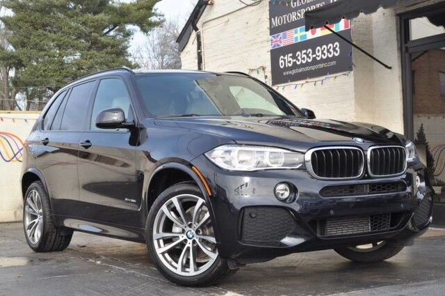 2016 BMW X5 xDrive35i/M Sport Pkg w/ 20'' Wheels/3rd Row Seating/Navigation/Premium Pkg w/ Comfort Access, Heated Front Seats, Panoramic Moonroof/Driver Assistance Plus Pkg w/ HUD, 360* Cameras, Active Blind Spot Monitoring/RARE Nashville TN