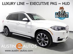 2016_BMW_X5 xDrive50i_*LUXURY LINE, EXECUTIVE PKG, HEADS-UP DISPLAY, NAVIGATION, PANORAMA MOONROOF, BACKUP-CAMERA, HARMAN/KARDON, BLUETOOTH_ Round Rock TX