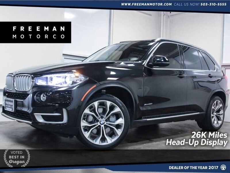 2016 BMW X5 xDrive50i xLine Head-Up Display 26K Miles Portland OR