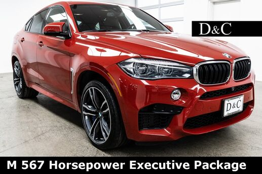 2016 BMW X6 M 567 Horsepower Executive Package Portland OR
