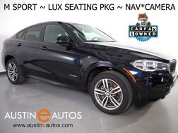 2016_BMW_X6 sDrive35i_*M SPORT PKG, NAVIGATION, BACKUP-CAMERA, LUXURY SEATING PKG, MOONROOF, DAKOTA LEATHER, COMFORT ACCESS, BLUETOOTH_ Round Rock TX