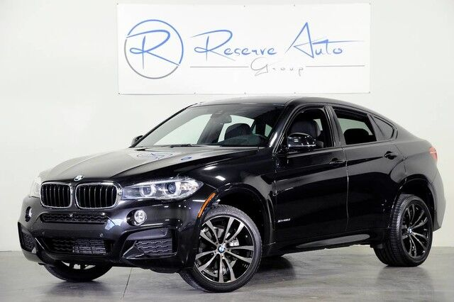 2016 BMW X6 xDrive35i M-Sport Blind Spot Assist Luxury Seating The Colony TX