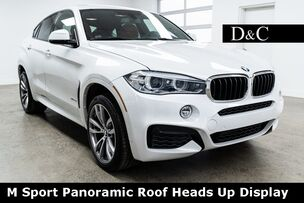 2016 BMW X6 xDrive35i M Sport Panoramic Roof Heads Up Display
