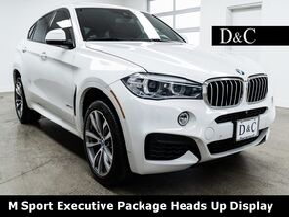 2016_BMW_X6_xDrive50i M Sport Executive Package Heads Up Display_ Portland OR