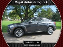 2016_BMW_X6_xDrive50i W/ IVORY WHITE DESIGN PACKAGE AND EXCUTIVE PACKAGE_ Englewood CO