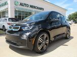 2016 BMW i3 Base w/Range Extender. PLUG-IN FAST CHARGE, NAVI, BACKUP CAM, KEYLESS START, HEATED SEATS