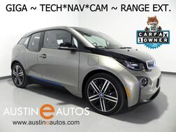 2016_BMW_i3 Giga World w/Range Extender_*NAVIGATION, BACKUP-CAMERA, ACTIVE DRIVE, COMFORT ACCESS, HEATED SEATS, 20 INCH WHEELS, BLUETOOTH PHONE & AUDIO_ Round Rock TX