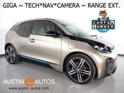 2016_BMW_i3 Giga World w/Range Extender_*NAVIGATION, BACKUP-CAMERA, DRIVING ASSISTANT, ADAPTIVE CRUISE, HARMAN/KARDON, HEATED SEATS, COMFORT ACCESS, 20 INCH WHEELS, BLUETOOTH AUDIO_ Round Rock TX